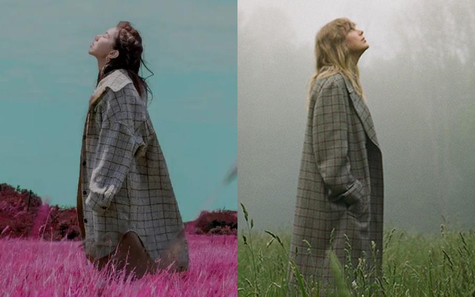 Bìa album mới của Taylor Swift bị nghi ngờ sao chép Đặng Tử Kỳ, fan Trung - Việt tranh cãi kịch liệt