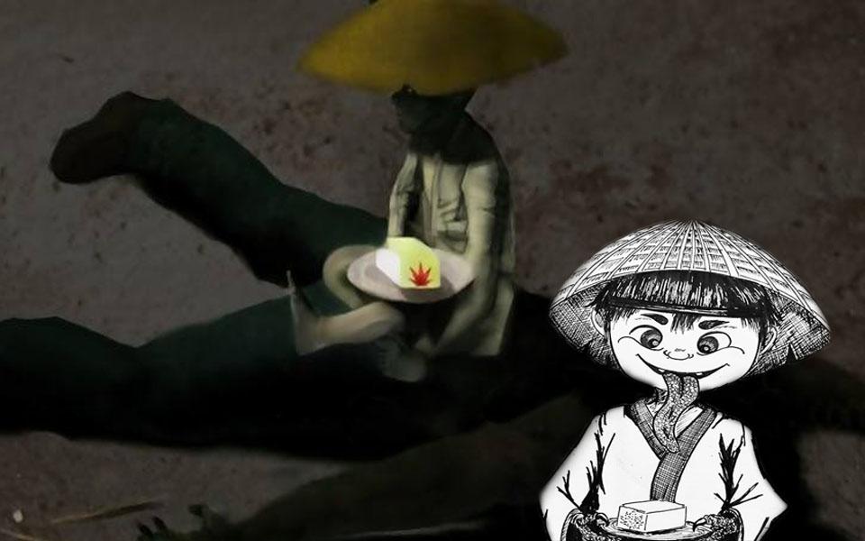 x: Tōfu kozō - yêu quái bán đậu phụ được người Nhật Bản xưa yêu thích cuồng nhiệt