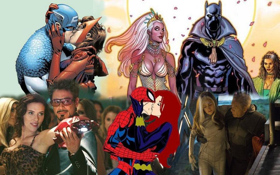 x: Những cặp tình nhân gây bất ngờ của Marvel: Toàn các tên tuổi khiến thiên hạ 'ngã ngửa' khi phải lòng nhau