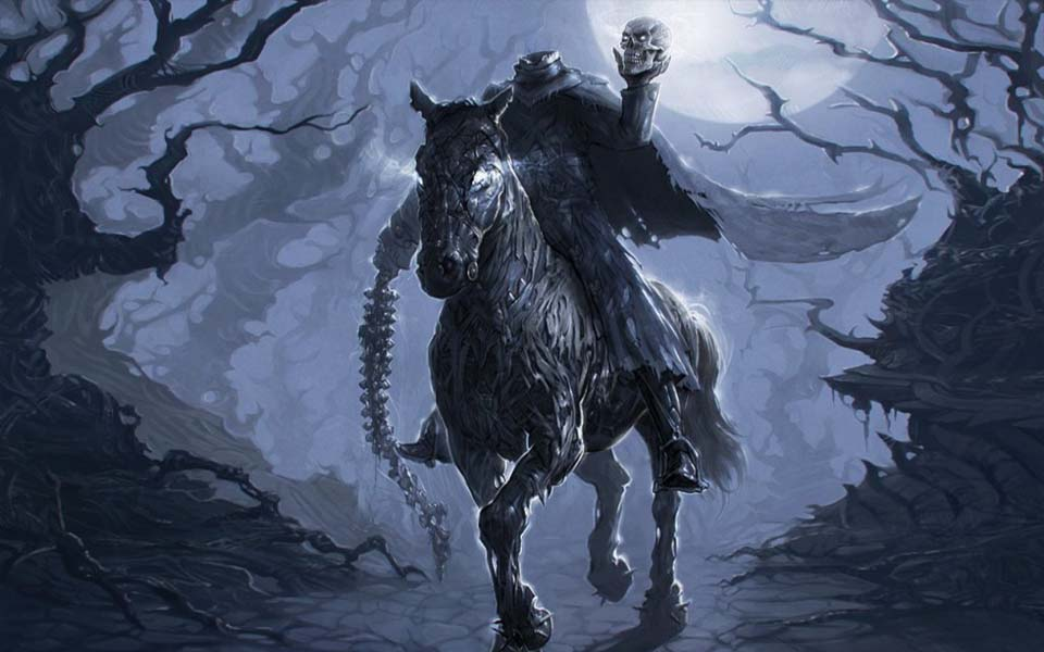x: Dullahan - Kỵ sĩ không đầu, một trong những bóng ma đáng sợ nhất trong truyền thuyết cổ xưa