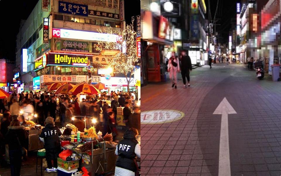 Covid-19 lại bùng phát, các khu phố ăn chơi Gangnam, Hongdae xứ Hàn vắng đến giật mình