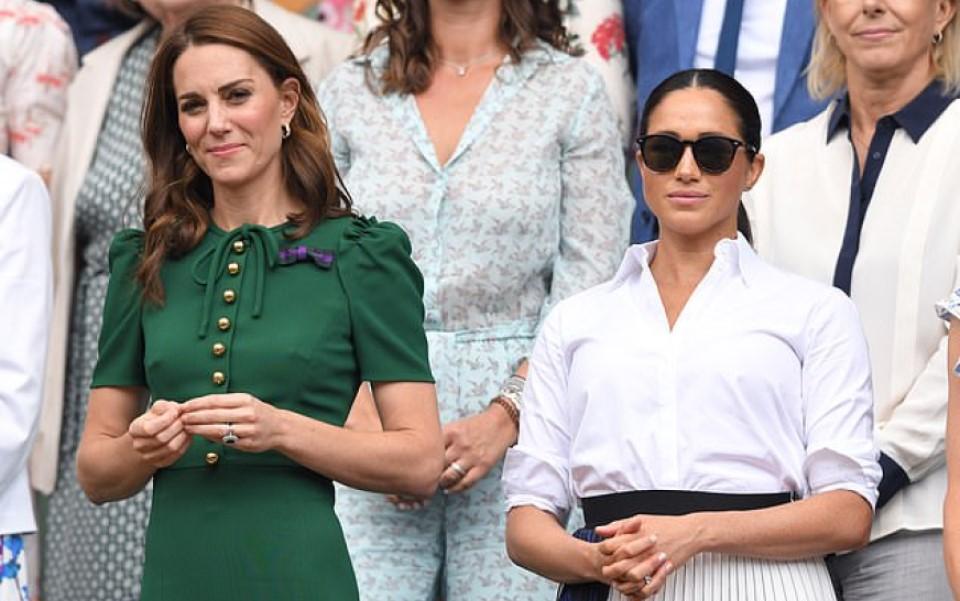 Meghan 'thất vọng' vì không thể 'nương tựa' chị dâu Kate Middleton khi Harry - William đối đầu