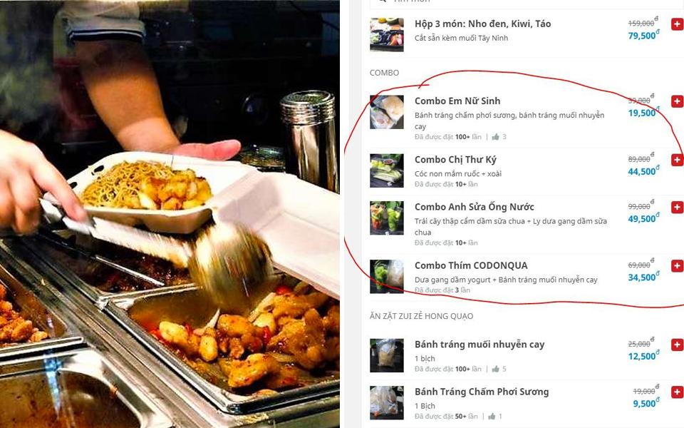 x Phần giới thiệu hài hước trong menu của các chủ quán EQ cao trên app giao hàng
