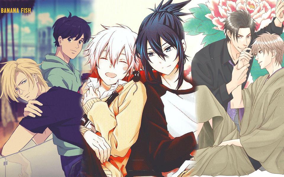 x 8 cặp đôi đồng tính nam được con dân yêu thích, si mê nhất trong vũ trụ anime