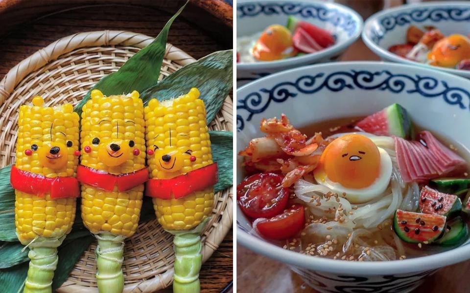 Mãn nhãn với những bữa ăn chứa cả bầu trời đáng yêu của mẹ Nhật Bản
