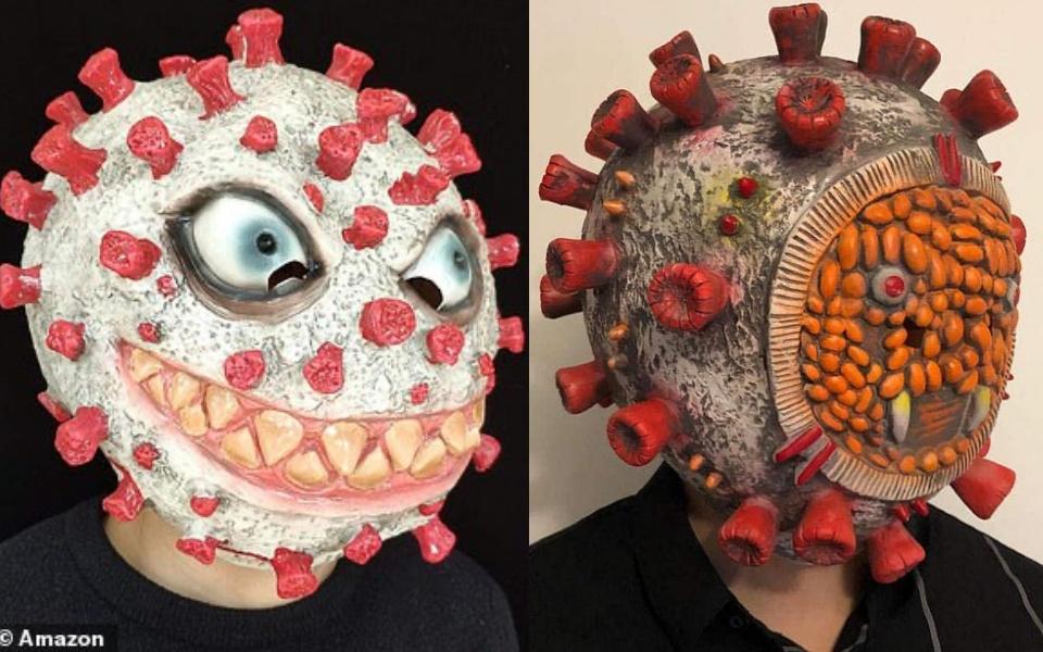 Trước thềm Halloween, mặt nạ hình virus SARS-CoV-2 bị Amazon gỡ bỏ vì quá kinh dị
