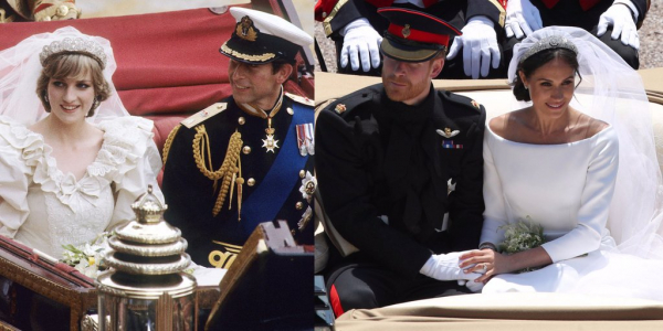 how princess diana honored royal wedding 2018