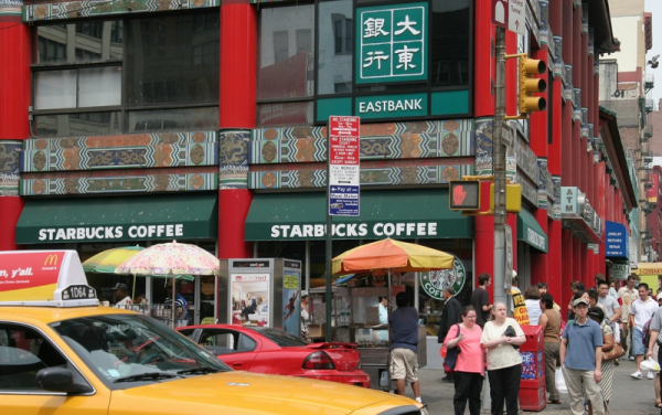starbucks in chinatown