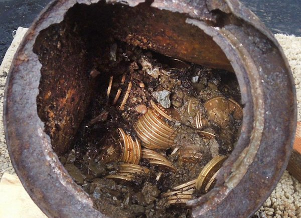 real life buried treasures found at construction sites x photos 1