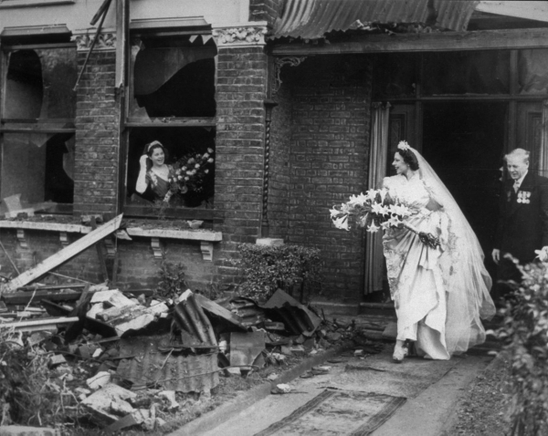 bride leaves her bombed out house for her wedding picture id2661669 size1280
