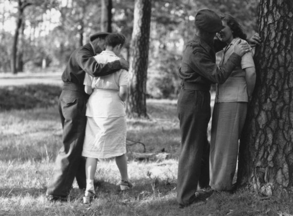 british troops stationed in germany fraternise with the local girls picture id2669158 size612