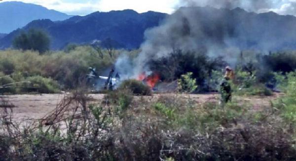 argentina chopper crash