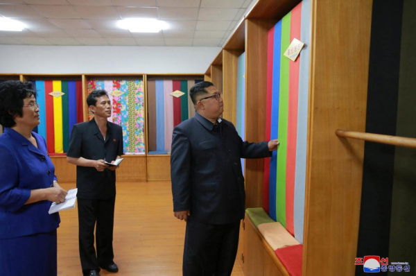 kim has made it clear he sees manufacturing as key to getting his country out of the red