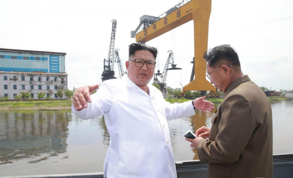 kim is facing a massive uphill battle to turn around his countrys failing economy