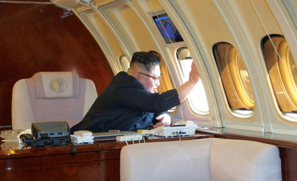 the despot spends most of the summer months flying from factory to factory