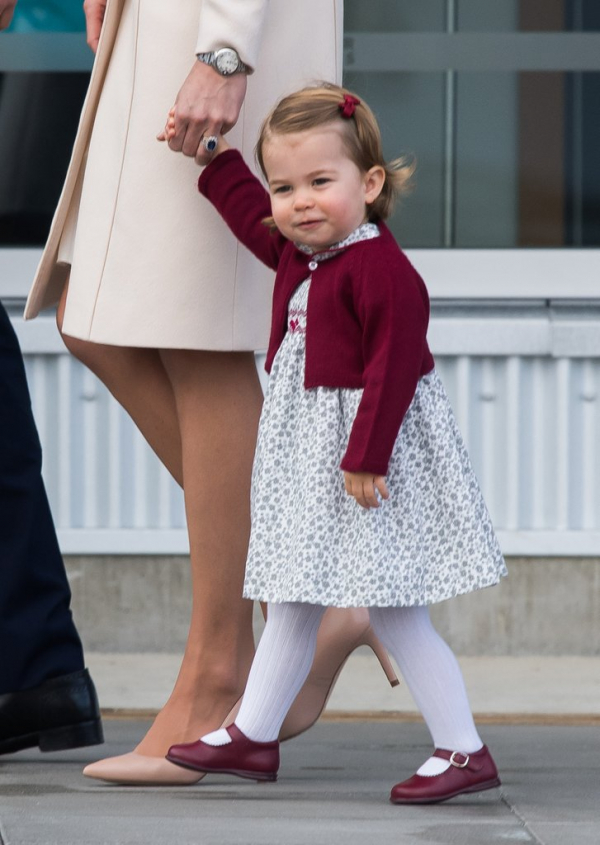 she already pro being royal
