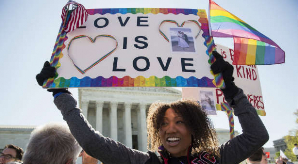 reuters love is love sign