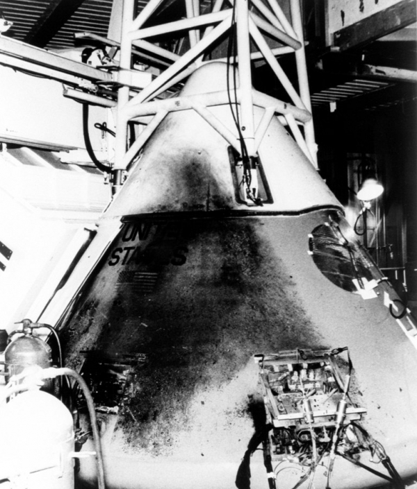 the tragedy of the first apollo mission to space 10