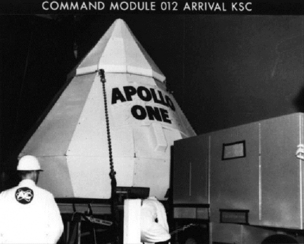 the tragedy of the first apollo mission to space 5