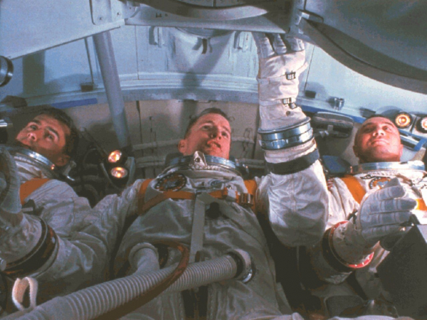 the tragedy of the first apollo mission to space 9