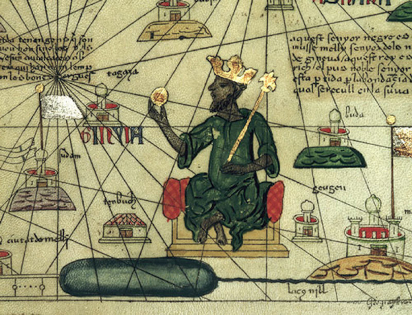 after reigning for 25 years mansa musa died in 1337