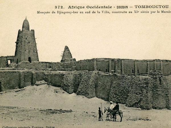 he also built the legendary djinguereber mosque in timbuktu which still stands