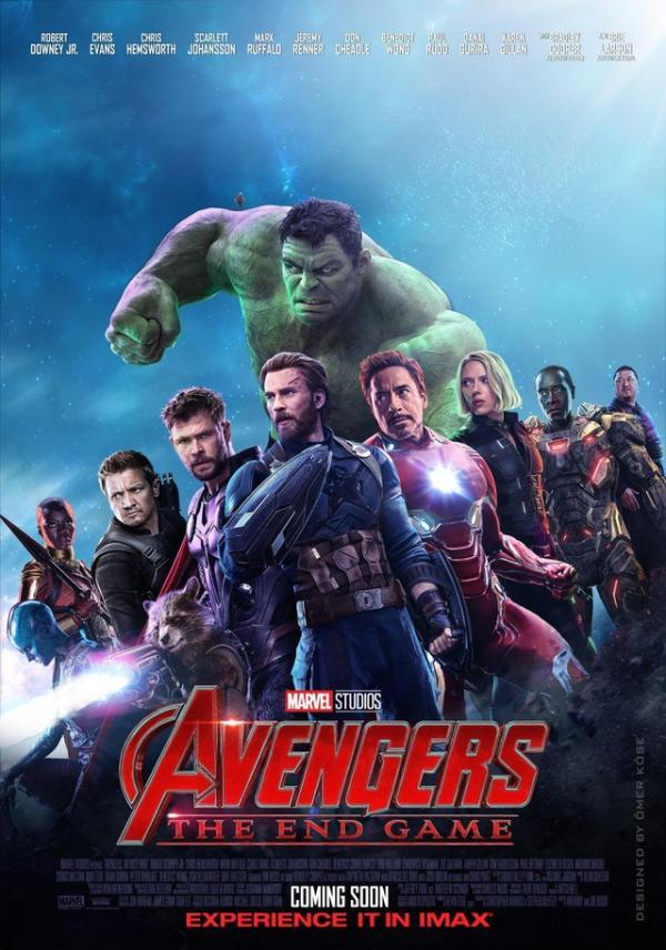 avenger 4 fan poster