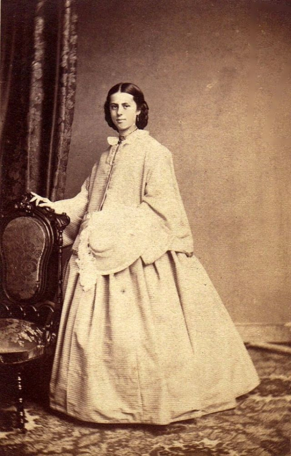 girls dresses in the 1860s 38