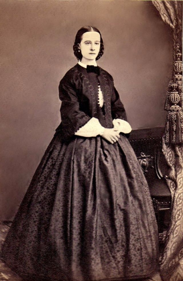 girls dresses in the 1860s 39