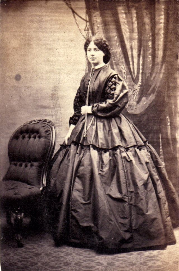 girls dresses in the 1860s 49