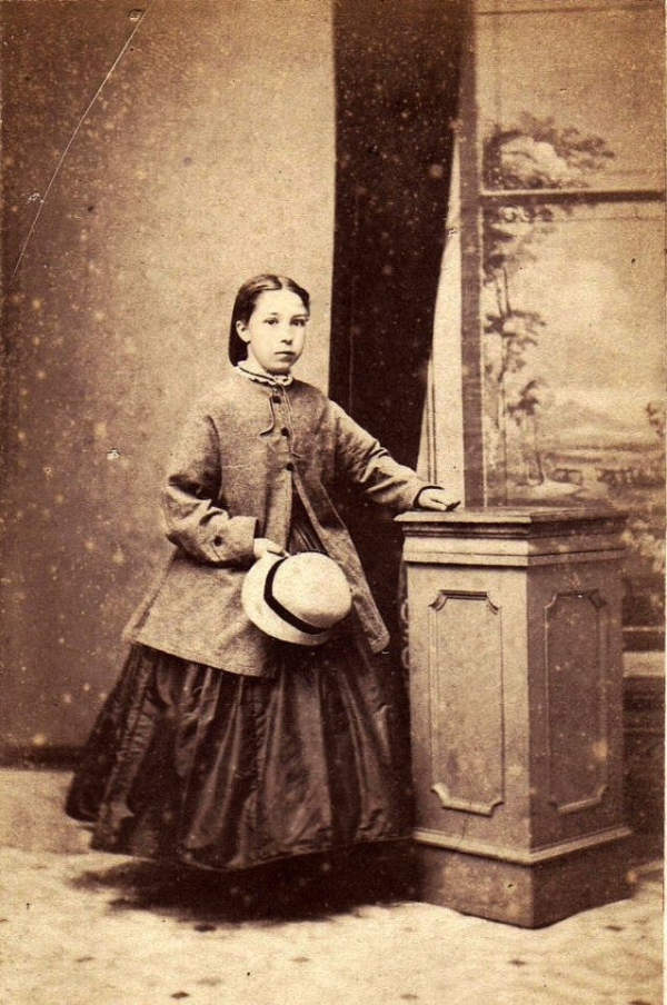 girls dresses in the 1860s 58