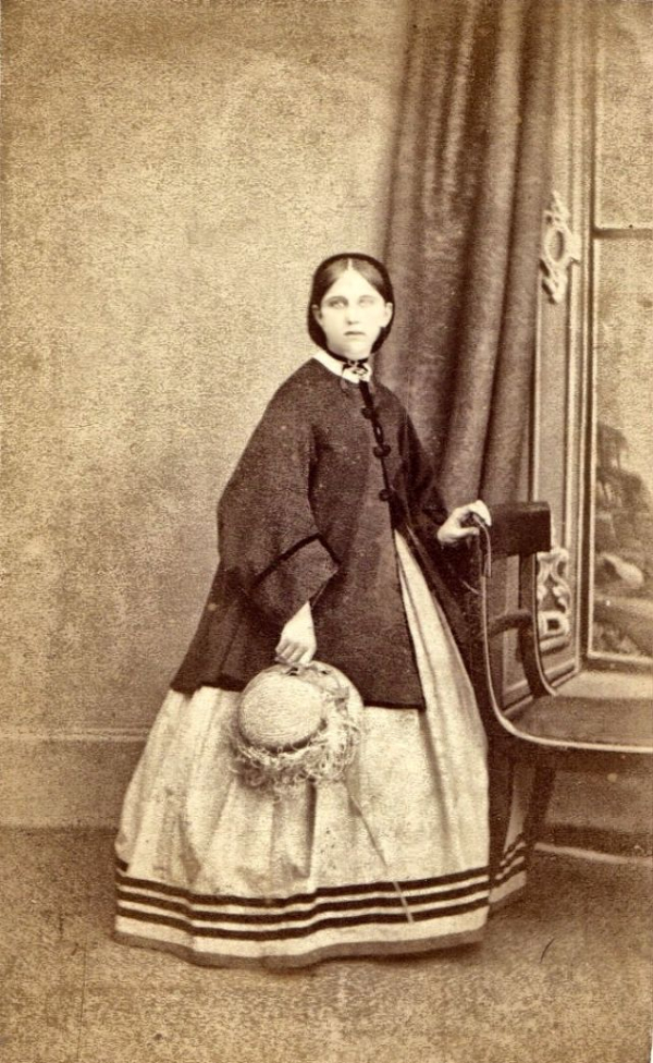girls dresses in the 1860s 60