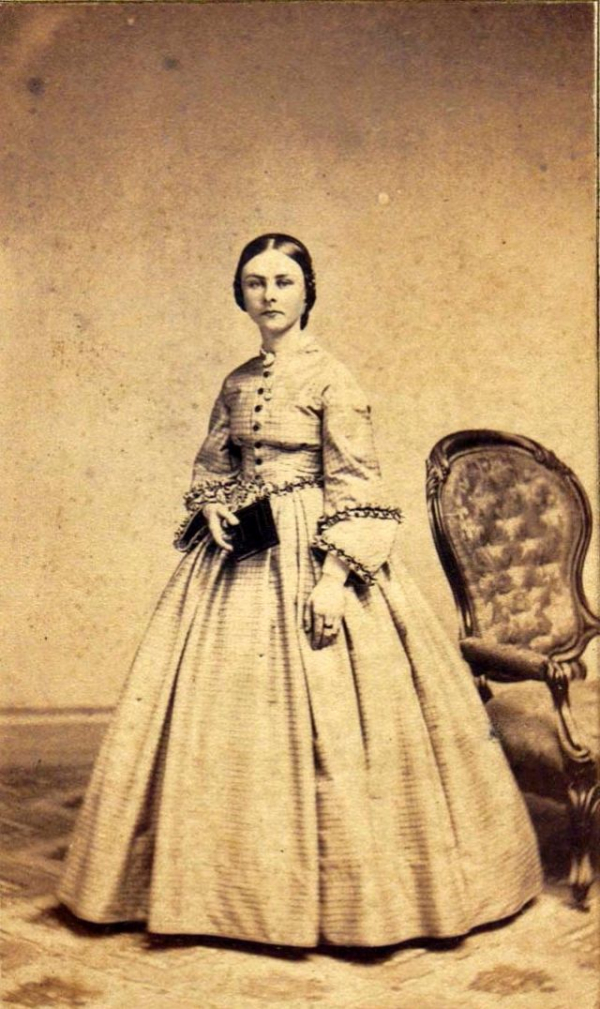 girls dresses in the 1860s 63