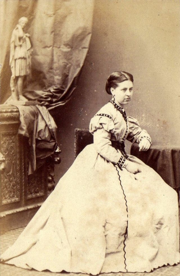 girls dresses in the 1860s 65