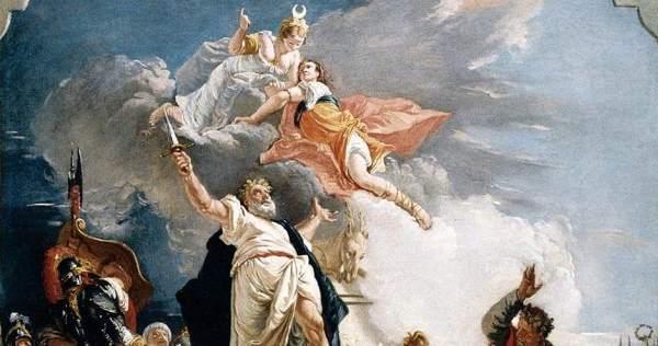 francesco fontebasso the sacrifice of iphigenia wga7991