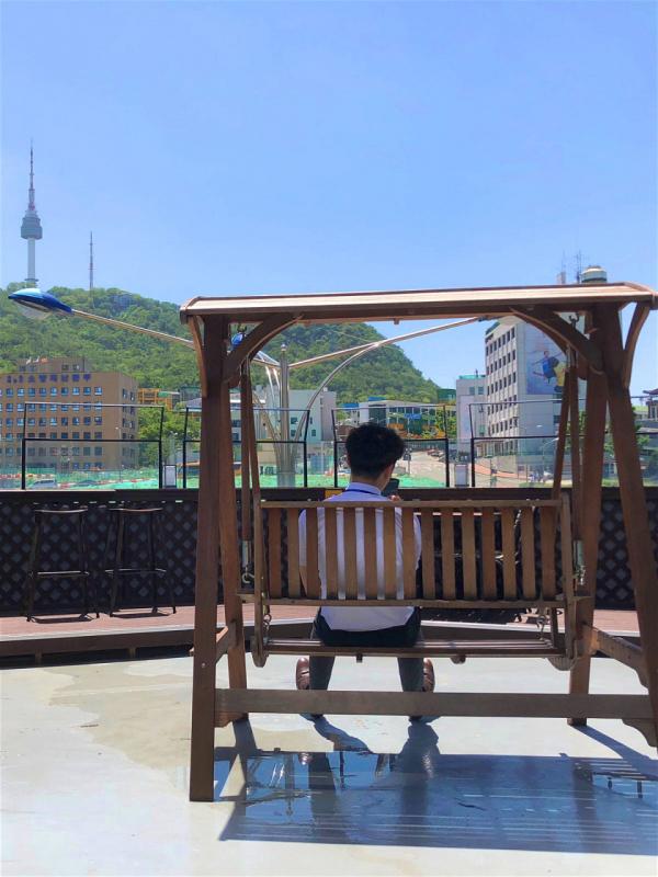 view rooftop cua hang tien loi han quoc
