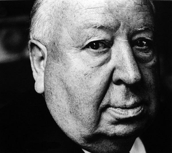 alfred hitchcock by jack mitchell