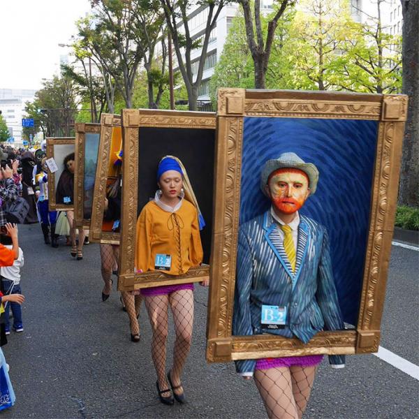 famous paintings halloween costumes kawasaki japan 5bdad6898722e 700