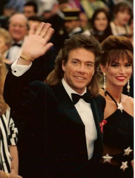 jean claude van damme sporting a mullet hairstyle photo by georges biard cc by sa 3 0