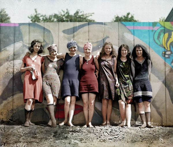 1920s colorized beauties 1
