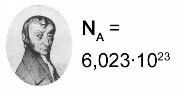 difference between avogadros constant and avogadros number 1