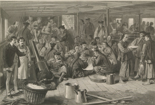 chinese emigration to america