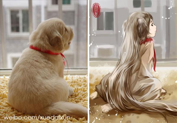 chinese artist creates human version of adorable kittens 5c1b554d9f33c 700