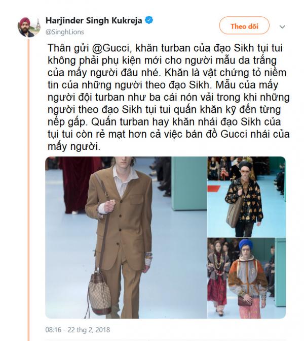 twitter gucci 2018 sikhs turban