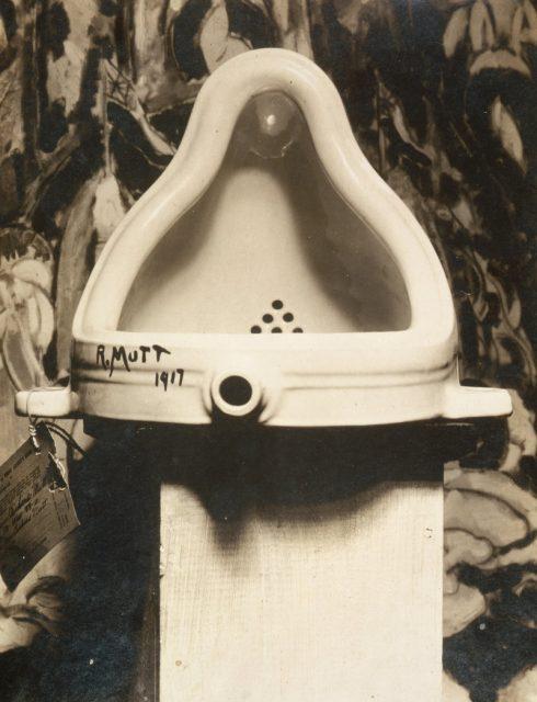 marcel duchamp 1917 fountain photograph by alfred stieglitz 490x640