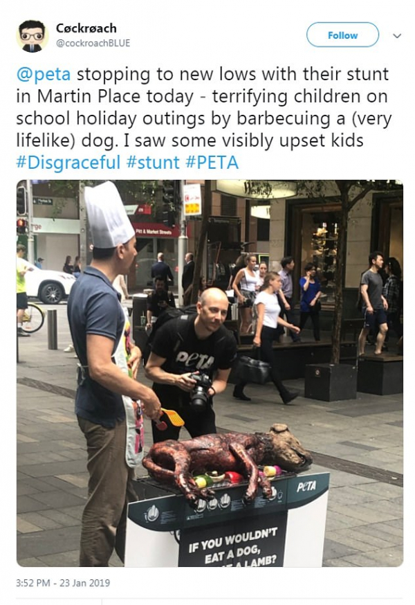 8918220 6626065 the stunt reportedly upset youngsters who were in the city on th a 2 1548306757701