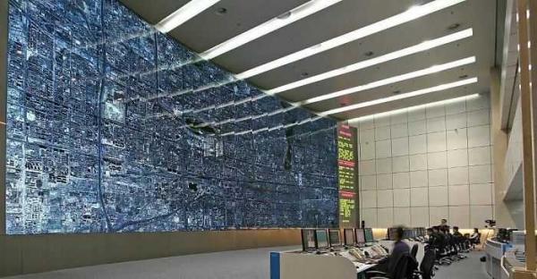 traffic control room looks like in beijing