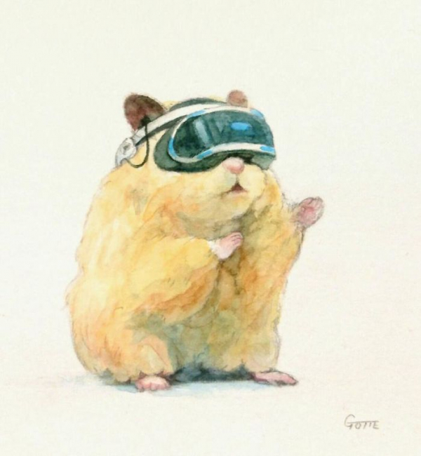artist illustrates the typical life of a japanese hamster and the result is very cute 5c47fd57dbb3d 700