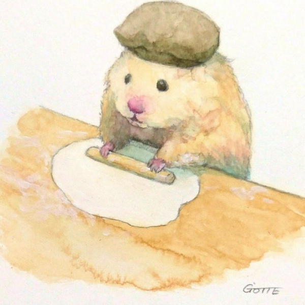 artist illustrates the typical life of a japanese hamster and the result is very cute 5c47fd6baa7e7 700