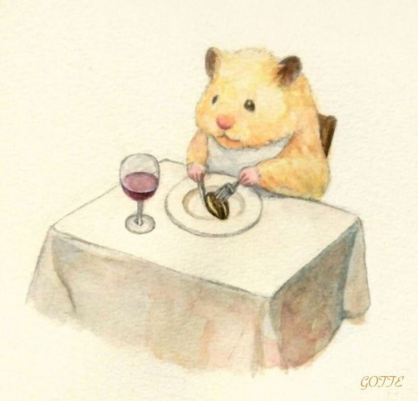 artist illustrates the typical life of a japanese hamster and the result is very cute 5c47fd799f541 700